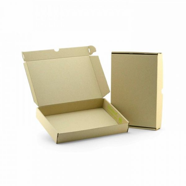 Maxibriefkarton DIN A4 305 x 215 x 45 mm | Naturebox® Graskarton