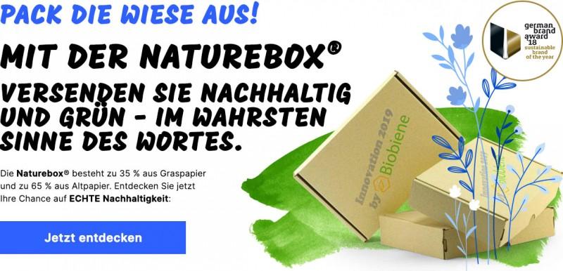 Nachhaltig verpacken mit Graskartons