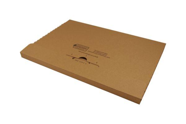 Großbriefkarton 345 x 245 x 20 mm braun