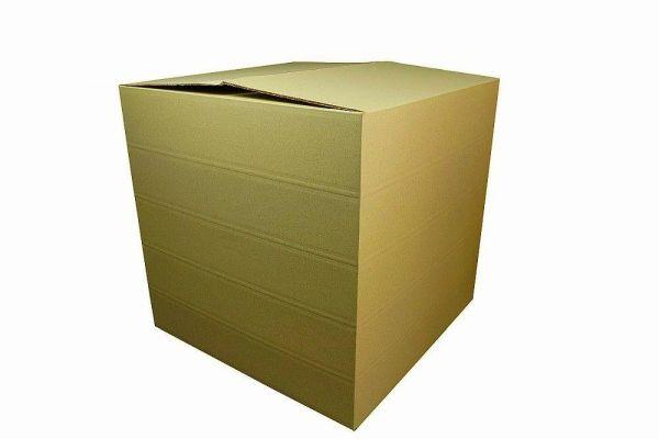 Zweiwellige Faltkartons 585 x 585 x 570 mm | Naturebox Gras Typ VII